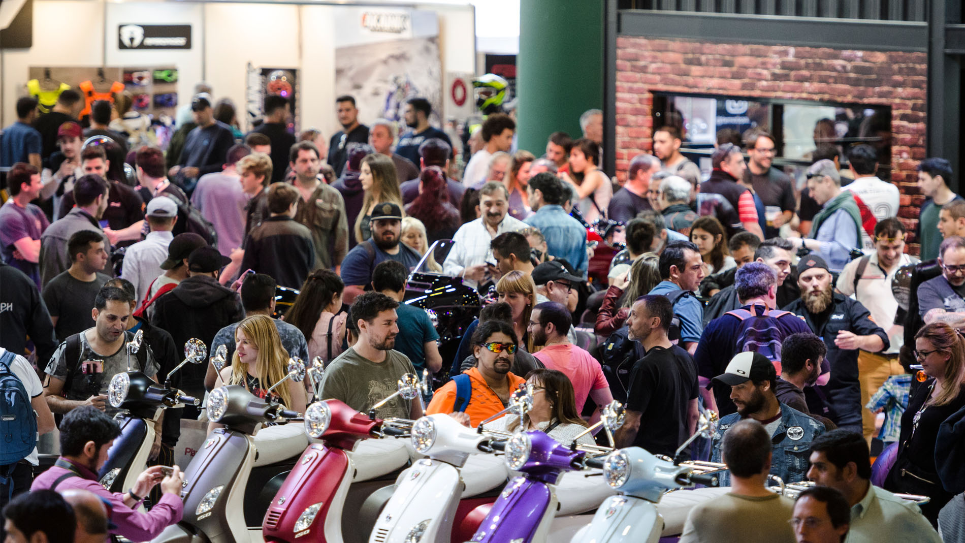 Absolute record: 60,000 people visited Salón Moto